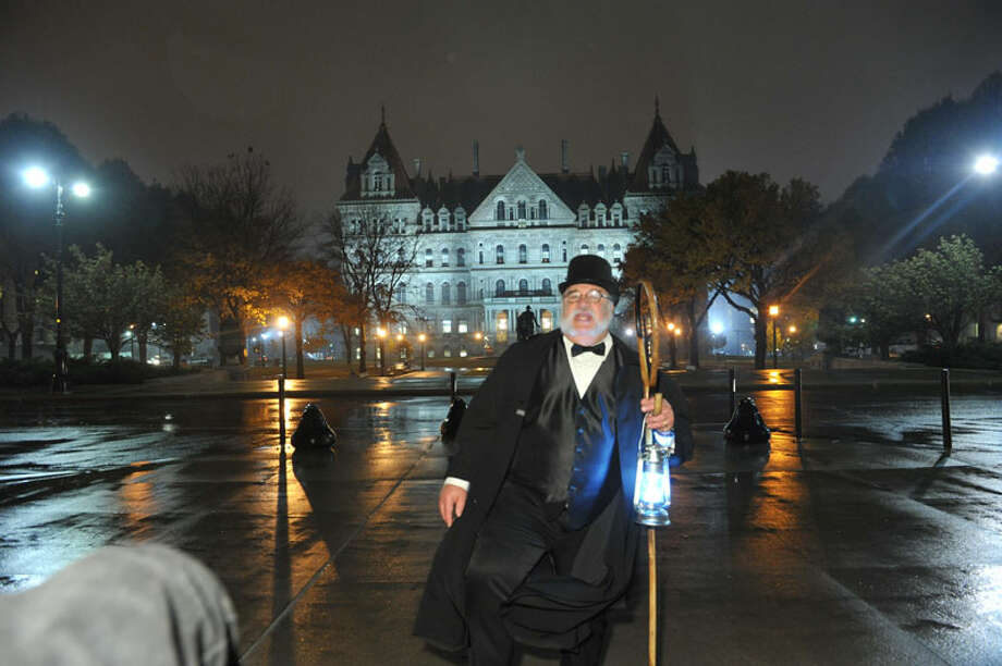 The ghost of gangsters, a Capitol Building night watchman, bawdy women and doomed lovers are among of the spirits who legendarily haunt Albany's downtown. Philip Schoenberg tells their stories during his Ghosts of Albany walking tours Sept. 15 through early November, now in its 6th year.