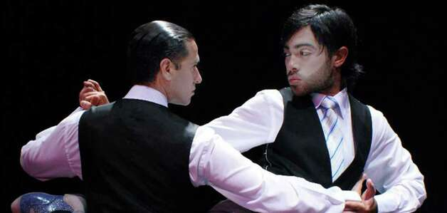 Argentinians Walter Perez and Leonardo Sardella will be part of a showcase of Latin dancers set to perform on Tuesday, Oct. 21, 2014 at the Westchester Broadway Theatre in Elmsford, N.Y. Photo: Contributed Photo / Stamford Advocate Contributed photo