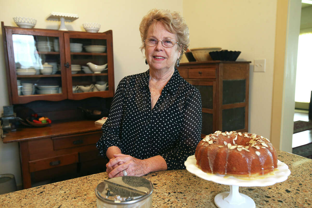 Joan Menard enjoys all types of cooking, especially baking cakes and bread. Read the story on ExpressNews.com