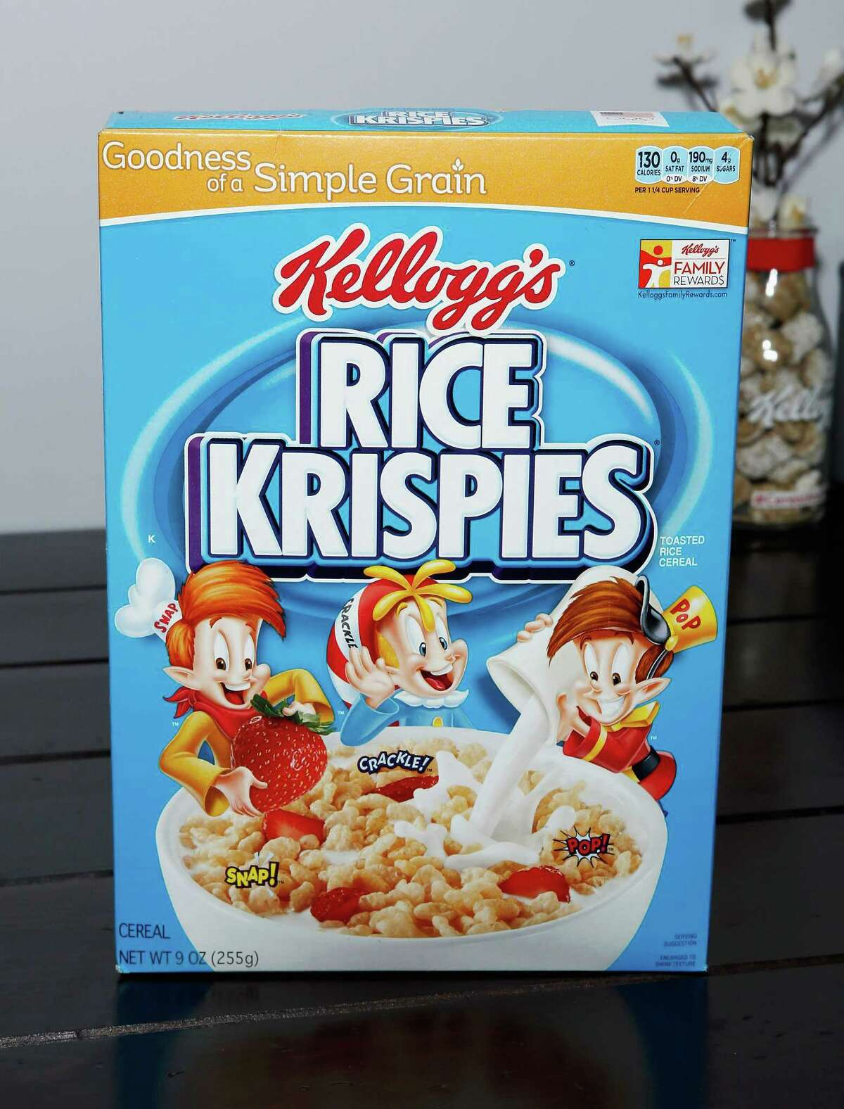 2. I am a huge cereal fan. We always have at least 5-10 boxes in our home at all times. My favorite is Rice Krispies.