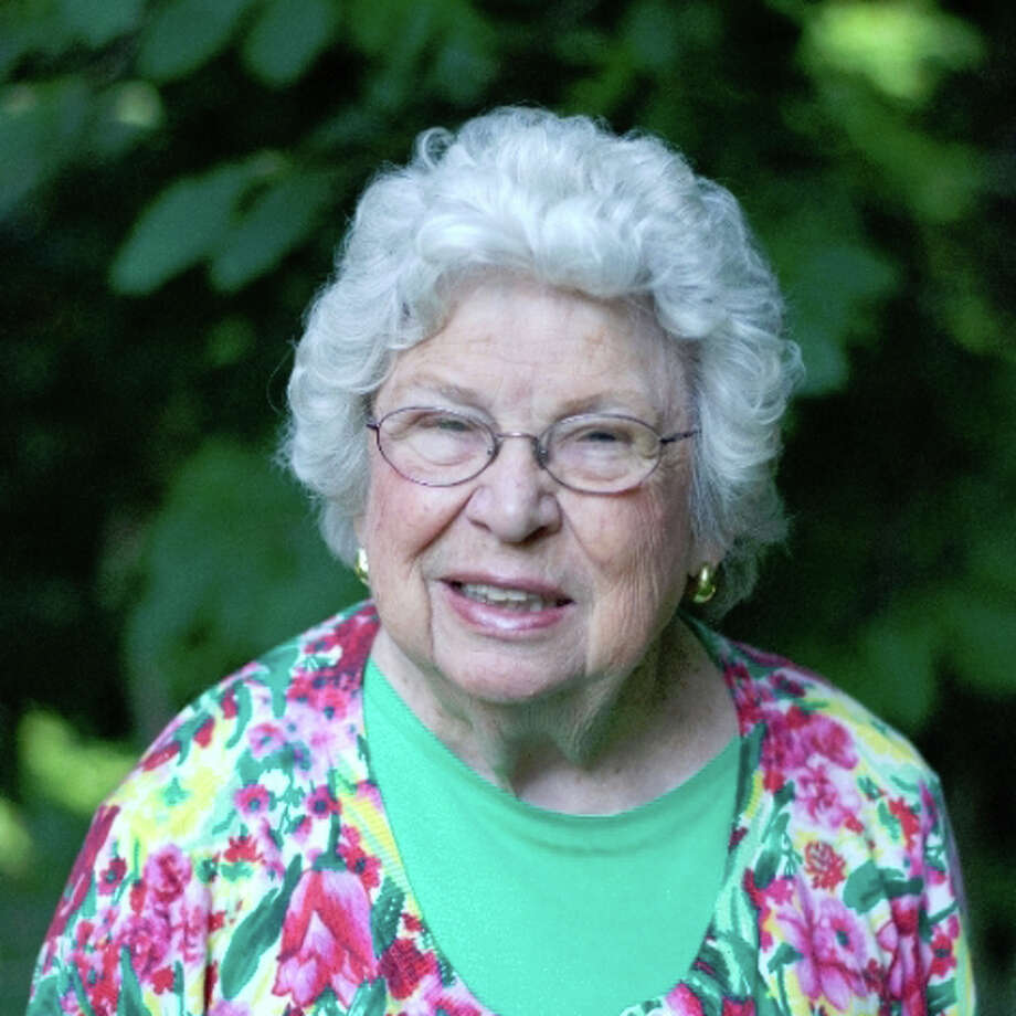 Martha Aasen, a leader in Democratic politics in Westport and at the state level for more than a half century, will be honored by the Democratic Town Committee. Westport CT. October 2014. Photo: Westport News/Contributed Photo / Westport News