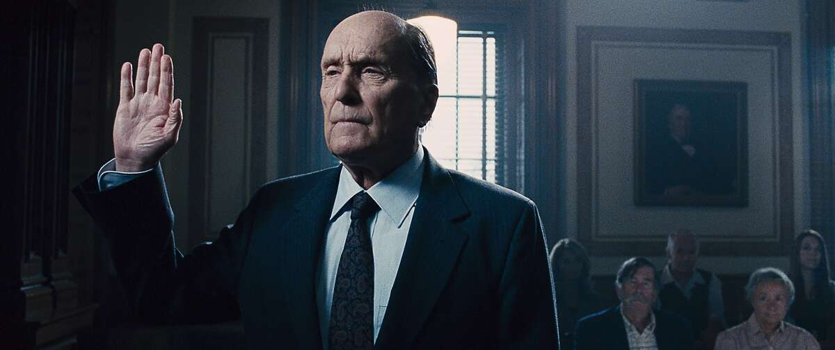 """This photo released by Warner Bros. Pictures shows, Robert Duvall as Joseph Palmer, in the Warner Bros. Pictures' and Village Roadshow Pictures' drama """"The Judge"""" a Warner Bros. Pictures release. The movie releases in the U.S. on Friday, Oct. 10, 2014. (AP Photo/Warner Bros. Pictures)"""