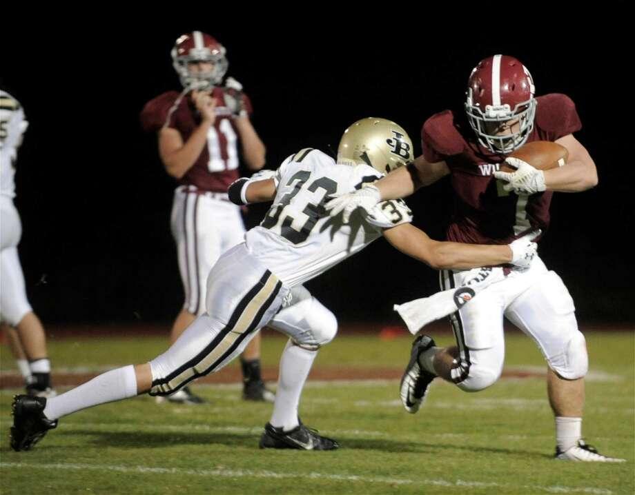 8. Joel Barlow High School, Region 9                                        Combined score: 1,721 Photo: H John Voorhees III
