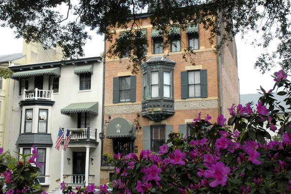 Ghoulish Lodgings The Foley House Inn in Savannah is Georgia's oldest B&B, but that's not the only fun fact about it: Guests often report seeing a man in a top hat walking the garden, and folklore says he may have been murdered on the property in the late 1800s. From $149 per night, bedandbreakfast.com  Kitchen Gadgets That Improve Your Health9 Lies You Tell Yourself About Cleaning Your House11 Sneaky Storage Tricks For A Tiny KitchenAdd These Superfoods To Your Grocery List9 Charming Items Every Book Lover Needs17 Ways You're Sleeping Wrong