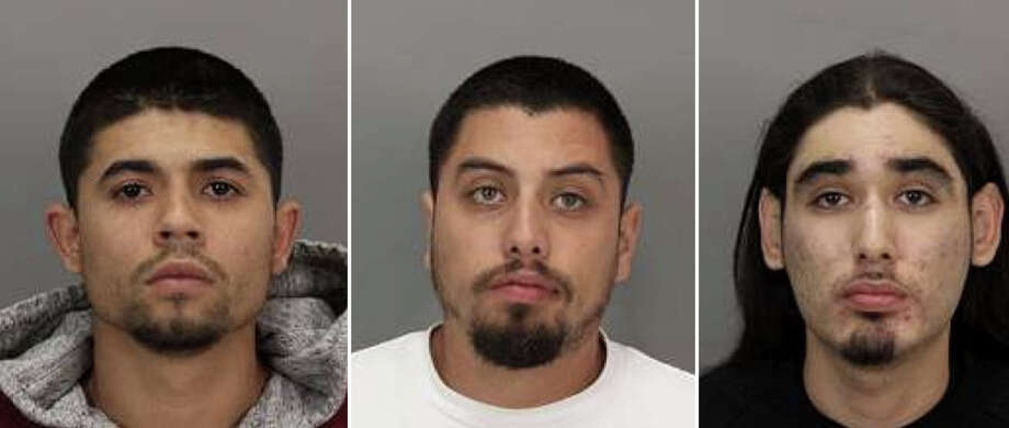 Luis Gonzalez, Alexander Reyna, Michal Castro were accused of murder in connection with the fatal shooting of Richard Watkins in San Jose on Sept. 27, 2014. Photo: San Jose Police Dept.