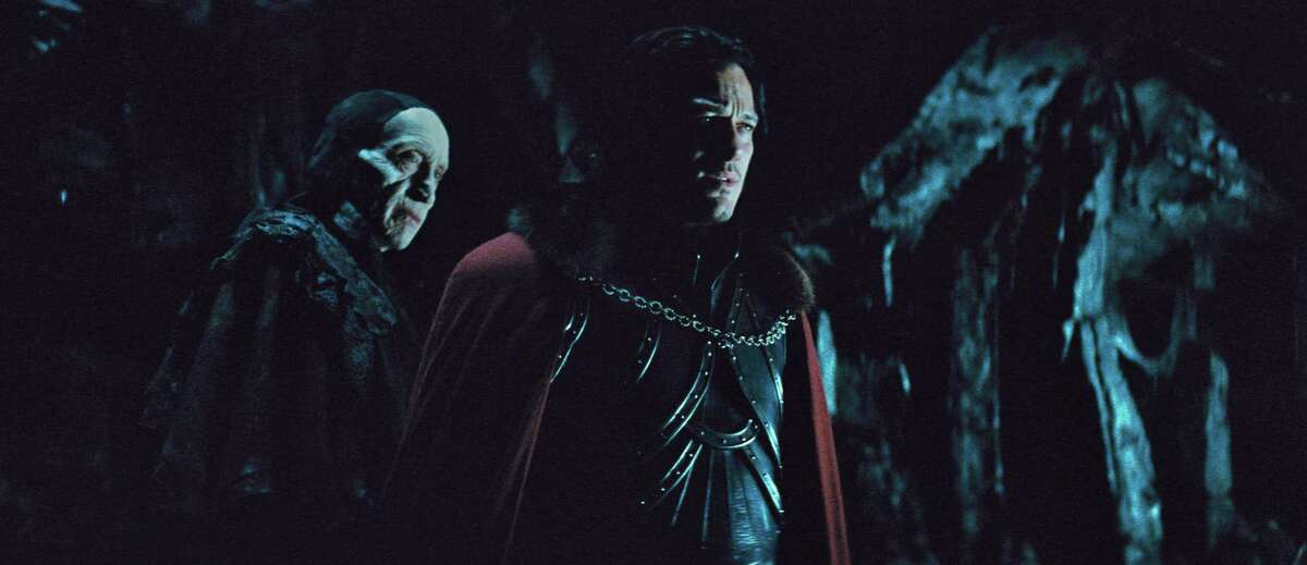 """2014: """"Dracula Untold,"""" which opens at Houston-area movie theaters Friday, presents the Count's """"origin story,"""" with Luke Evans (right) as Vlad and Charles Dance as the Master Vampire."""