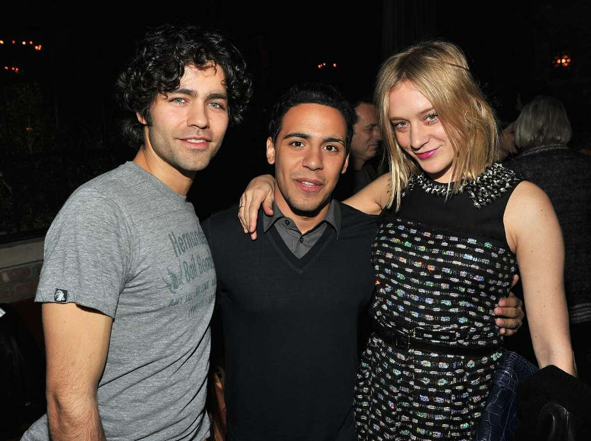 NEW YORK - FEBRUARY 09: Actor Adrian Grenier, actor Victor Rasuk and actress Chloe Sevigny attend the
