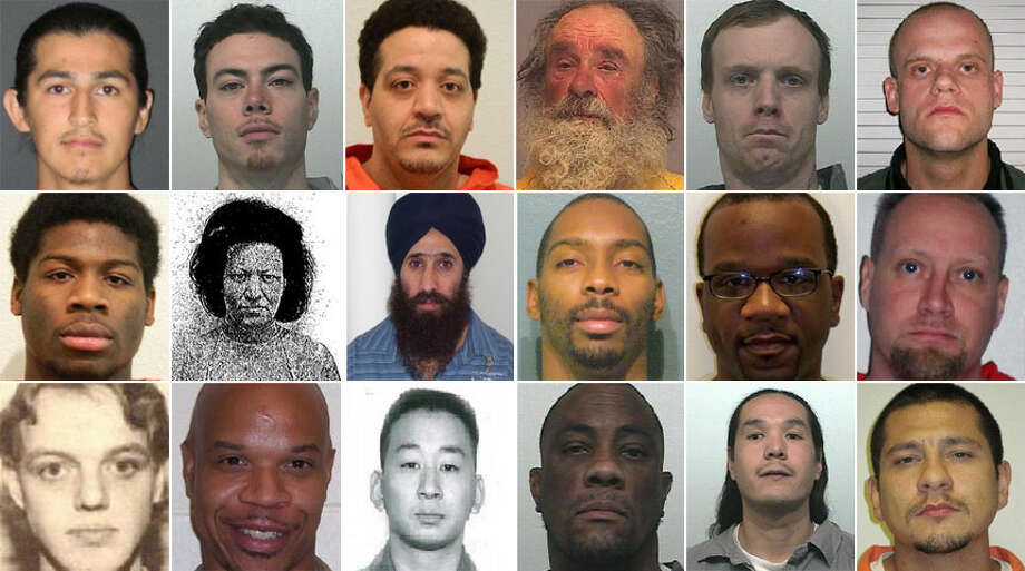 Click through for a look at the state Department of Corrections' most wanted violent felons. Photo: Department Of Corrections