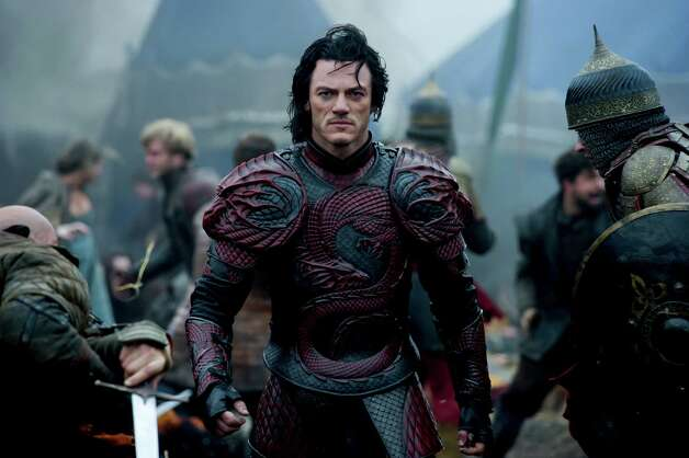 """Dracula Untold""IMDb: 6/10Review by Mick LaSalle: 'Dracula Untold' depicts Vlad's unthinkable choiceThree starsTo its credit, ""Dracula Untold"" finds something new to do with the Dracula story. It mixes the vampire element with some of the true history of Vlad the Impaler, who in this movie is a really nice guy saddled with an unfortunate nickname. For that reason, when he meets a woman here, he just says, ""I'm Vlad"" and leaves off the other part because that name is a distraction in forging relationships. Photo: Jasin Boland / © Universal Pictures"