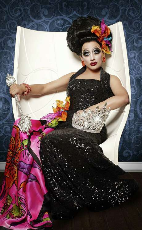 "Bianca Del Rio, who has competed in ""RuPaul's Drag Race,"" will play Magenta in the Woodlawn Theatre's ""The Rocky Horror Show."" Photo: Courtesy Magnus Hastings"