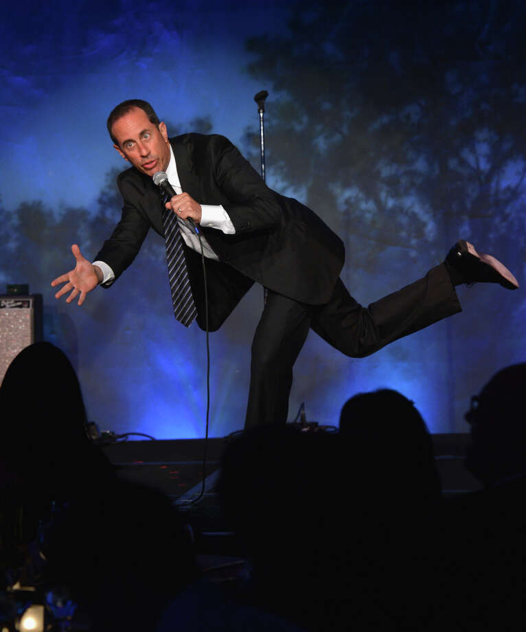 Jerry Seinfeld, who will be in San Jose and Oakland, has also been making an Internet series. Photo: Larry Busacca / Getty Images For SeriousFun Chil / 2013 Getty Images