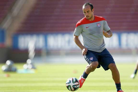 Forward Landon Donovan represented the United States in three consecutive World Cups, scoring five goals in 12 matches.