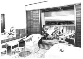 An archive image of the Mauna Kea Beach Hotel, which opened in 1965.