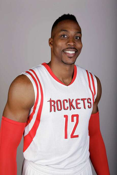 Houston Rockets' Dwight Howard poses during media day Monday, Sept. 29, 2014, in Houston. (AP Photo/David J. Phillip) Photo: David J. Phillip, STF / AP