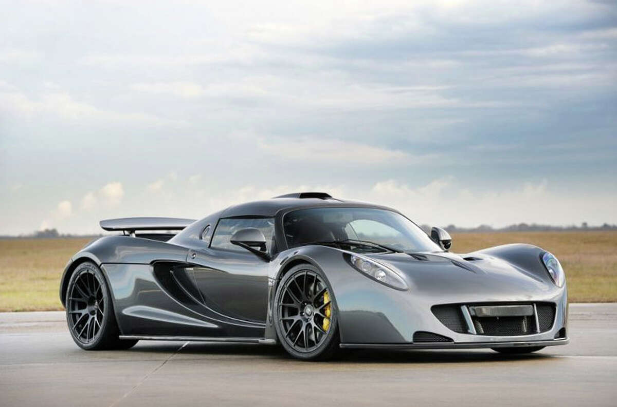 The Hennessey Venom GT is the fastest production car ever made. The sports car was clocked at 265.7 mph during a speed test in California.