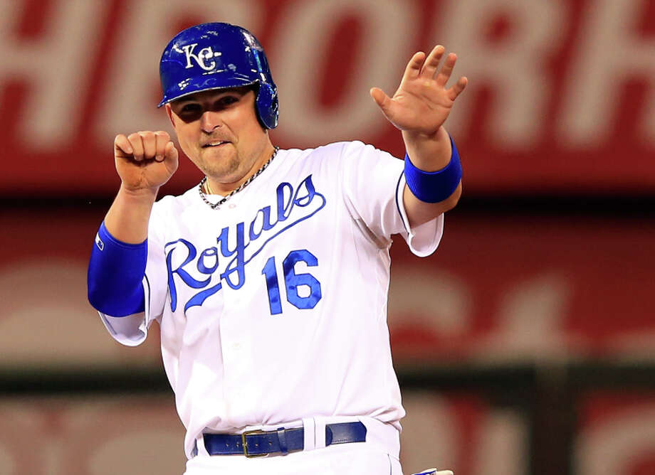 """Slow-footed Billy Butler is talking about his Royals teammates when he says speed is """"what we do."""" Photo: Jamie Squire / Getty Images / 2014 Getty Images"""