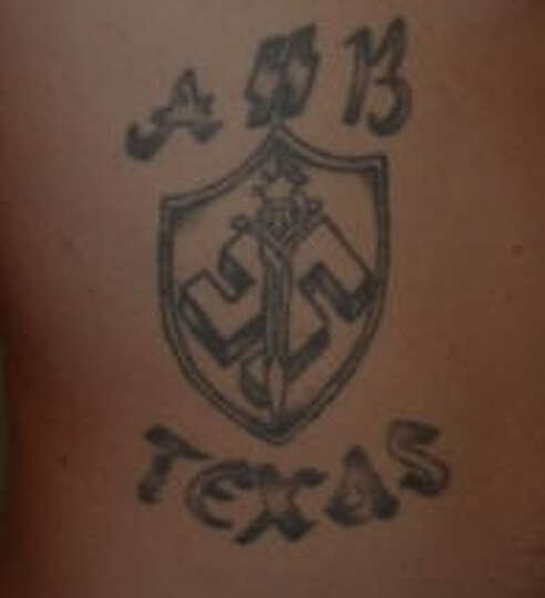 This aryan brotherhood of texas patch as shown on the for Arian brotherhoods tattoos