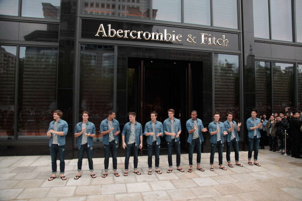 Down: 21 percent of girls in the survey said they no longer wear Abercrombie & Fitch.