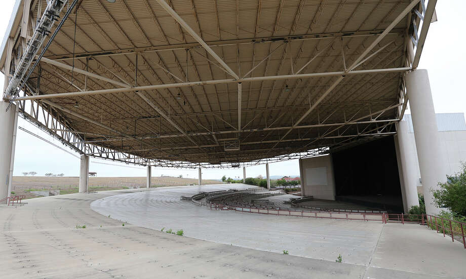 Verizon Wireless Amphitheater, seen here without chairs on  Sept. 14, 2014, once hosted Tom Petty, the Red Hot Chili Peppers and a young Taylor Swift, bringing up to 20,000 fans at a time to the outdoor concert venue in Selma. Now, the space's main purpose is to hold an Easter egg hunt. It's now owned by River City Community Church. Photo: JERRY LARA, San Antonio Express-News / © 2014 San Antonio Express-News