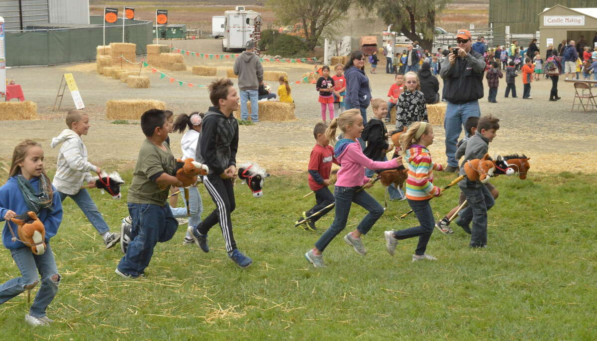 Several races are scheduled for kids at the Tolay Fall Festival this weekend in Petaluma.