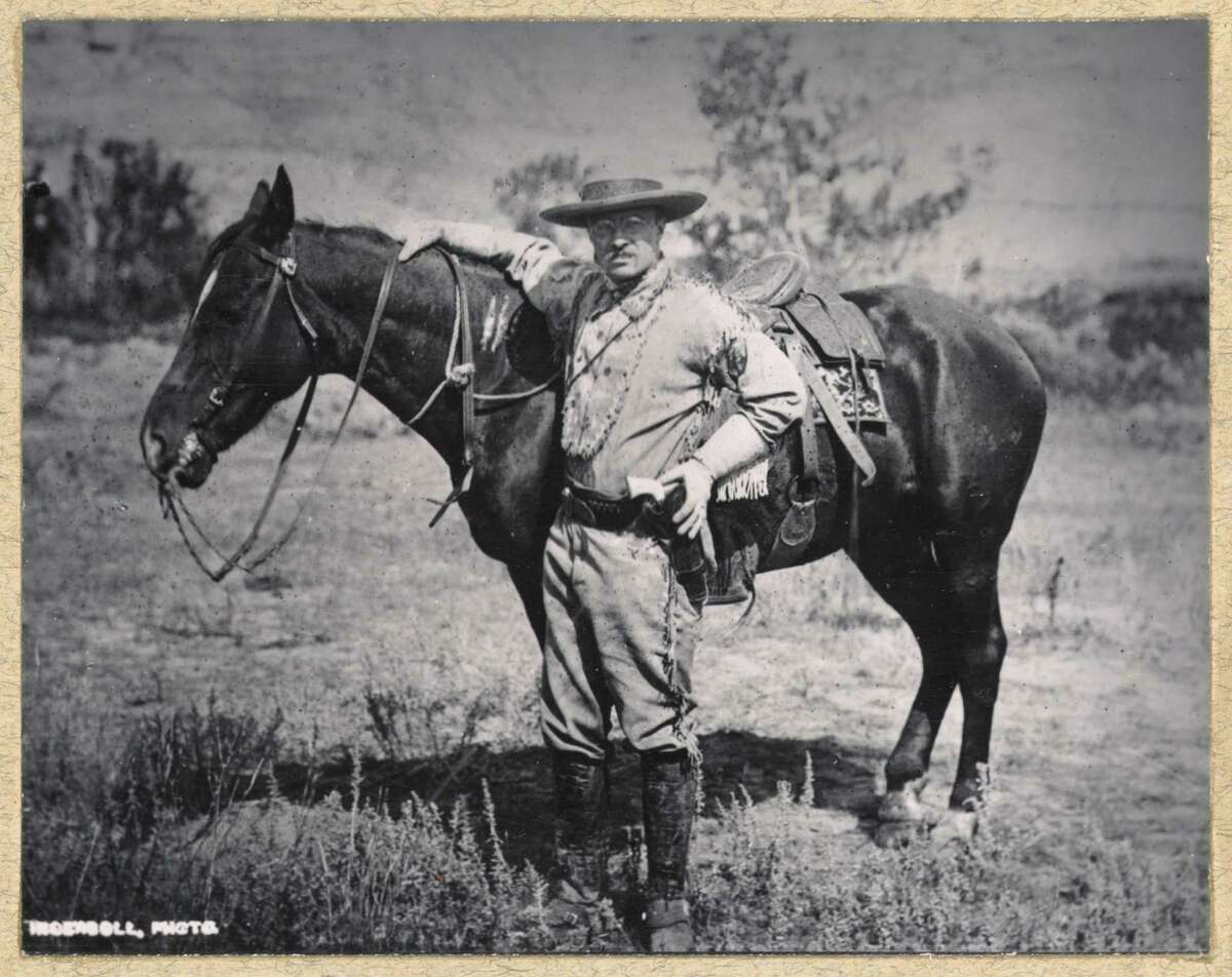 TR In 1903, Pres. Theodore Roosevelt went on a camping trip to Yosemite in California with Muir.