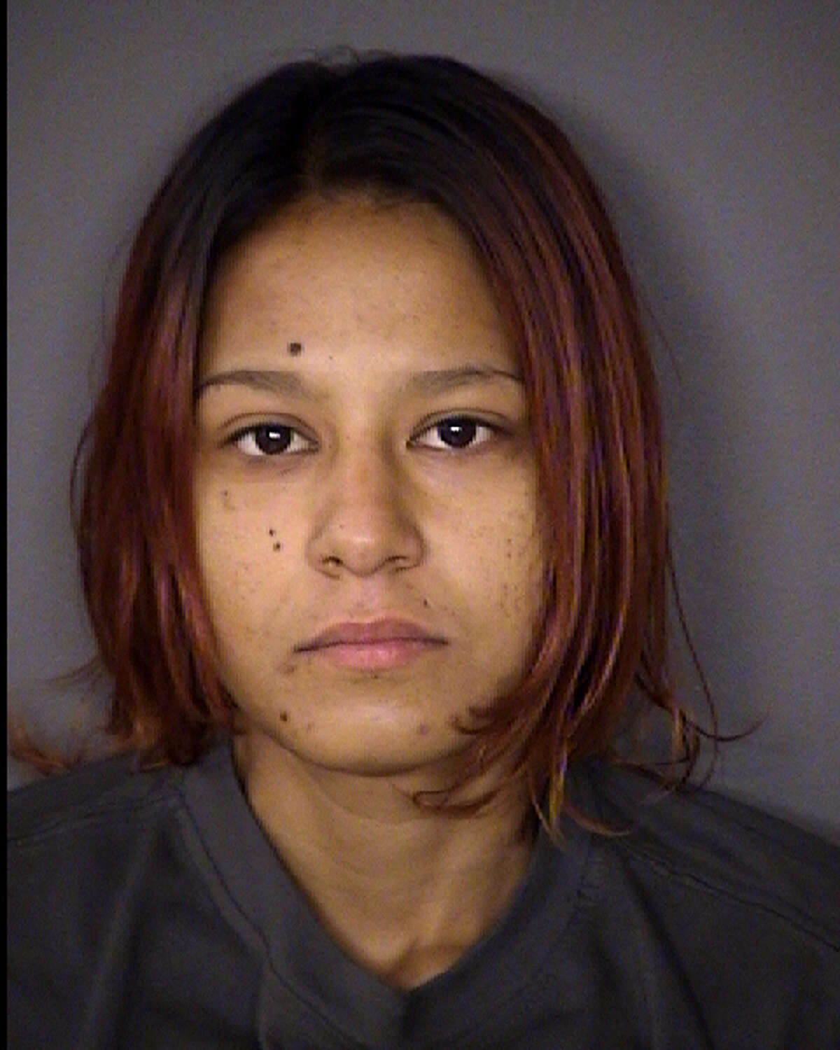 Destiny Rios' booking photo from Sept. 10, 2014.