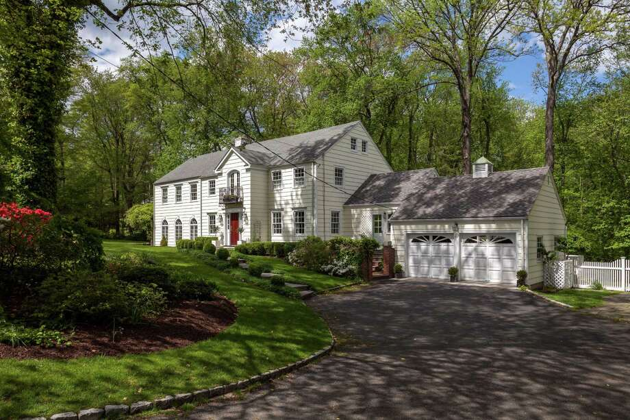 The property at 95 Pembroke Road is on the market for $2,175,000. Photo: Contributed Photo / Darien News