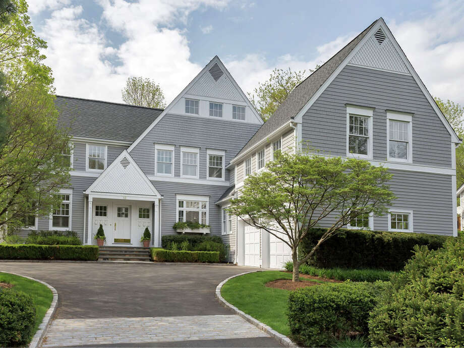 The house at 15 Prospect Place is on the market for $1,995,000. Photo: Contributed Photo / New Canaan News