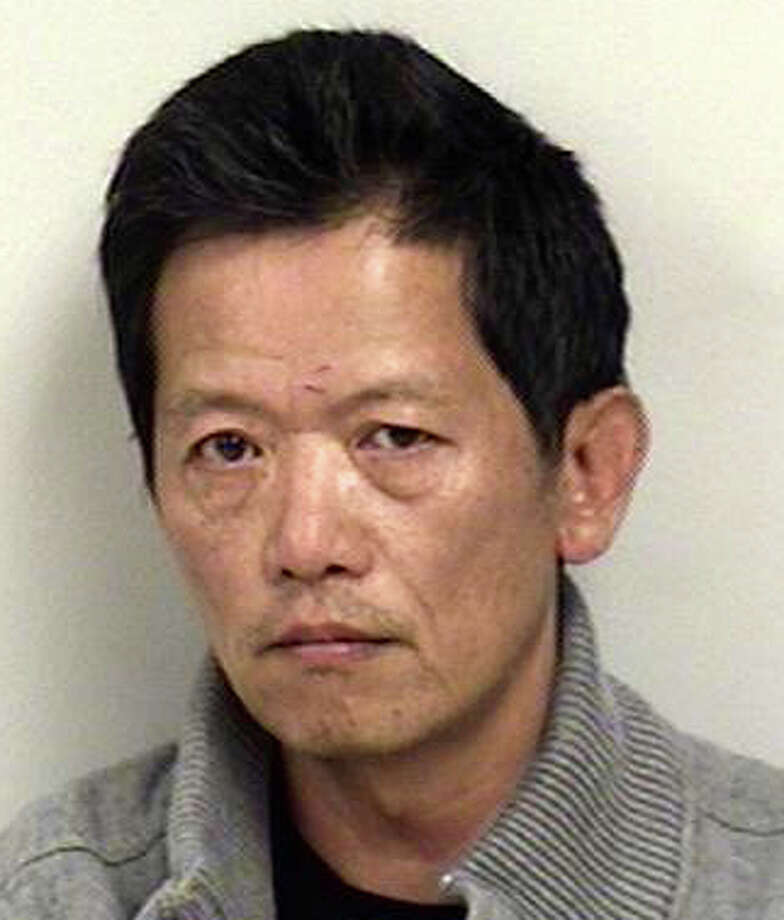 Xiaodong Guowong, 54, of Crescent Park Road, has been charged with driving under the influence on Post Road East. Photo: Westport Police Department / Westport News