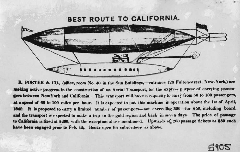 Imagination took flight with airship experimentation in S F