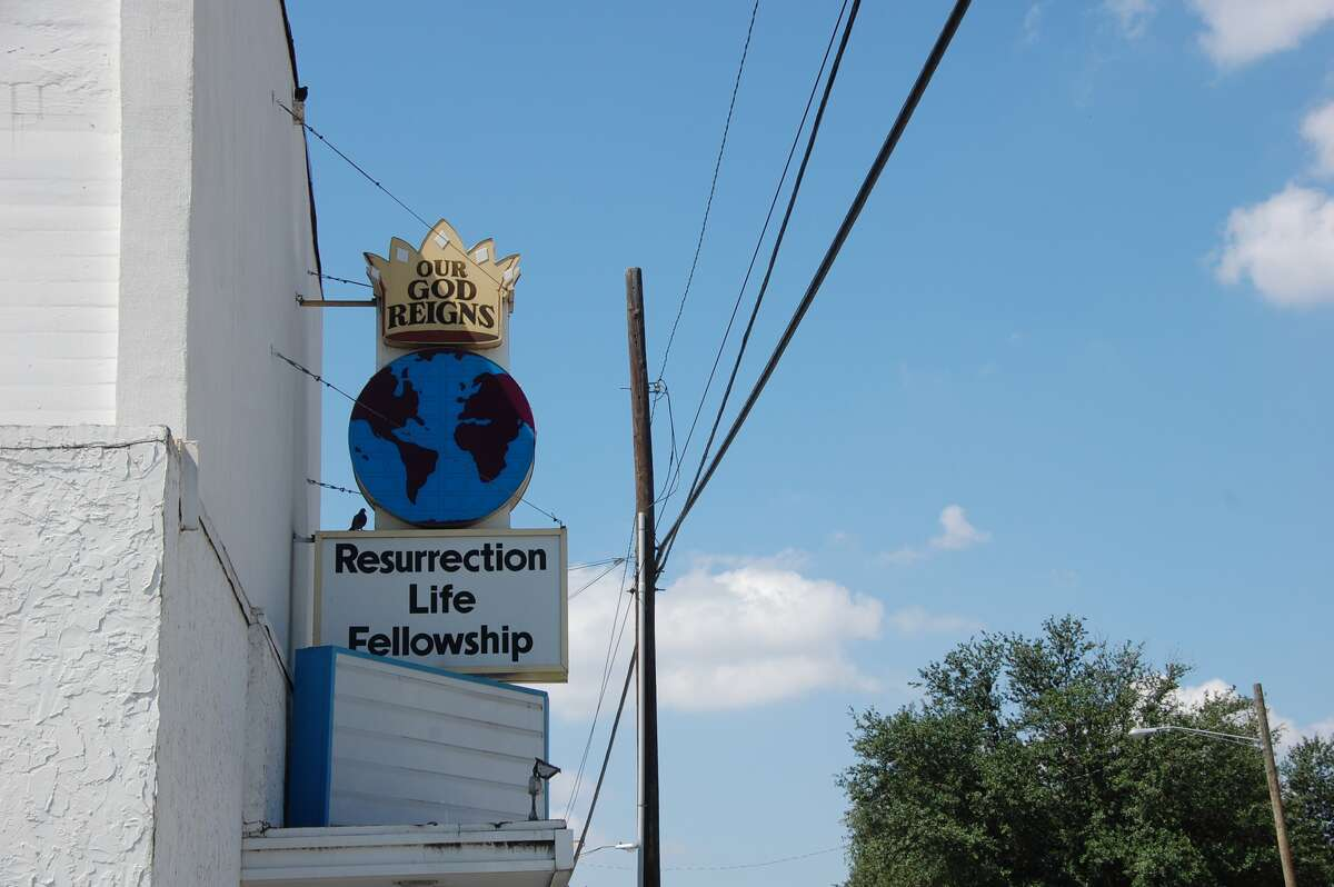 At Resurrection Life Fellowship, the focus is the future, the resplendent ever-after promised by the sign out front.