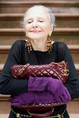 "Joyce Carpati in ""Advanced Style."""