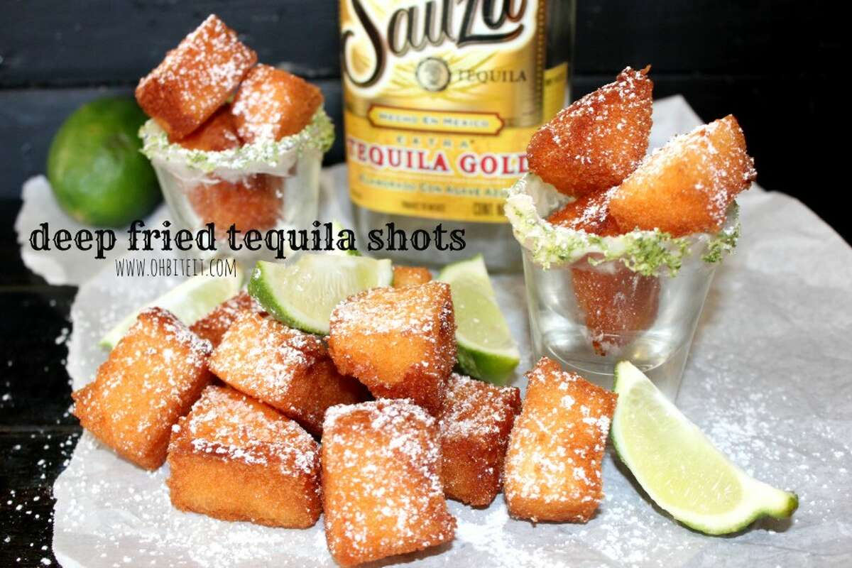 Amy Erickson, founder of cooking blog Oh, Bite it!, released her recipe for deep-fried tequila shots, raisingthe bar for fried food, and drinking in general.