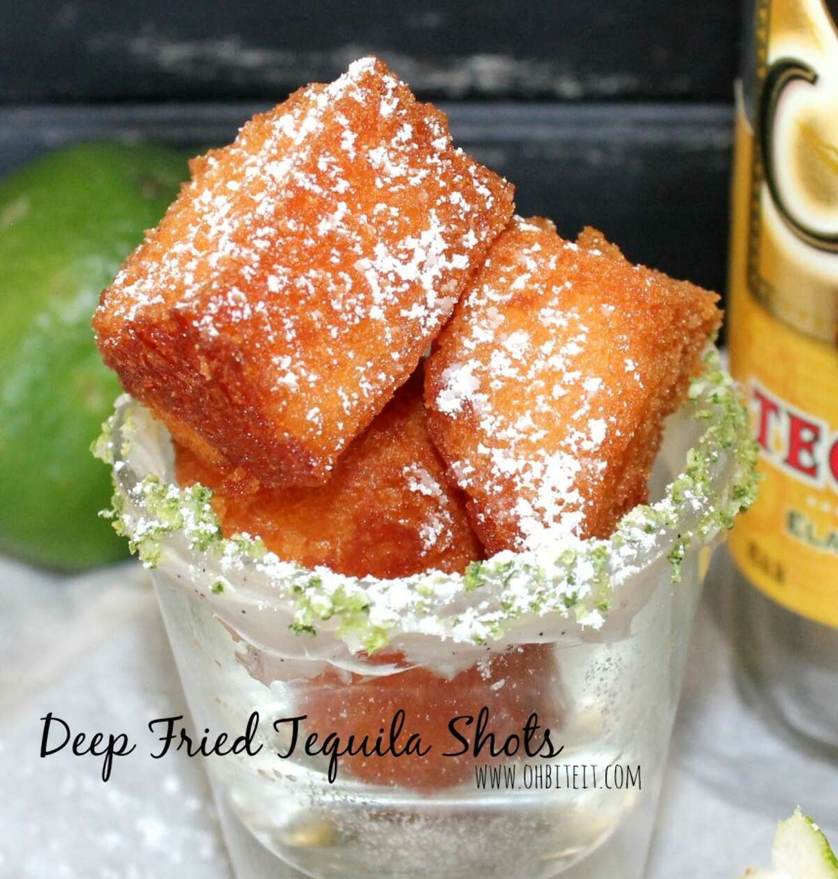 For the person that wants to get drunk without actually drinking, this may be the answer to all their wishes. Yes, deep-fried tequila shots are a thing.