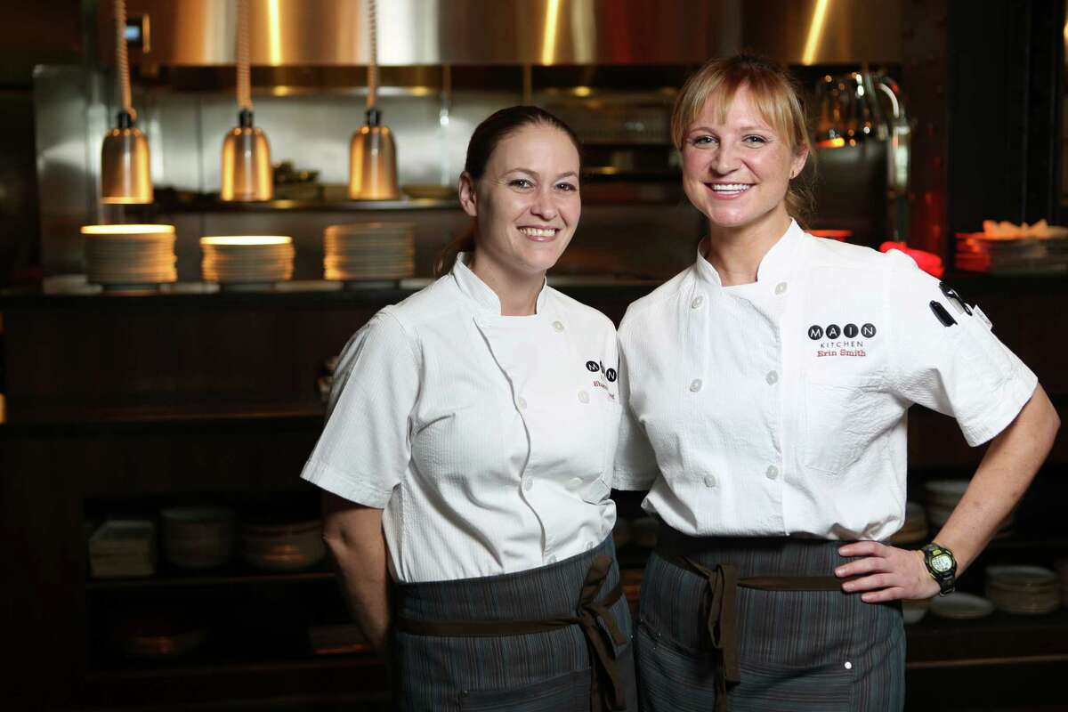 Sharon Gofreed, and Erin Smith  Main Kitchen and 806 Bar & Lounge 806 Main There's a lot of strong coffee being consumed by the white jackets at Main Kitchen. And a concerning amount of caffeine-stoked Monster Energy Drink. But that's because the two chefs commanding the kitchen at the new restaurant at the JW Marriott Houston Downtown need that fuel. Or at least they think they do.