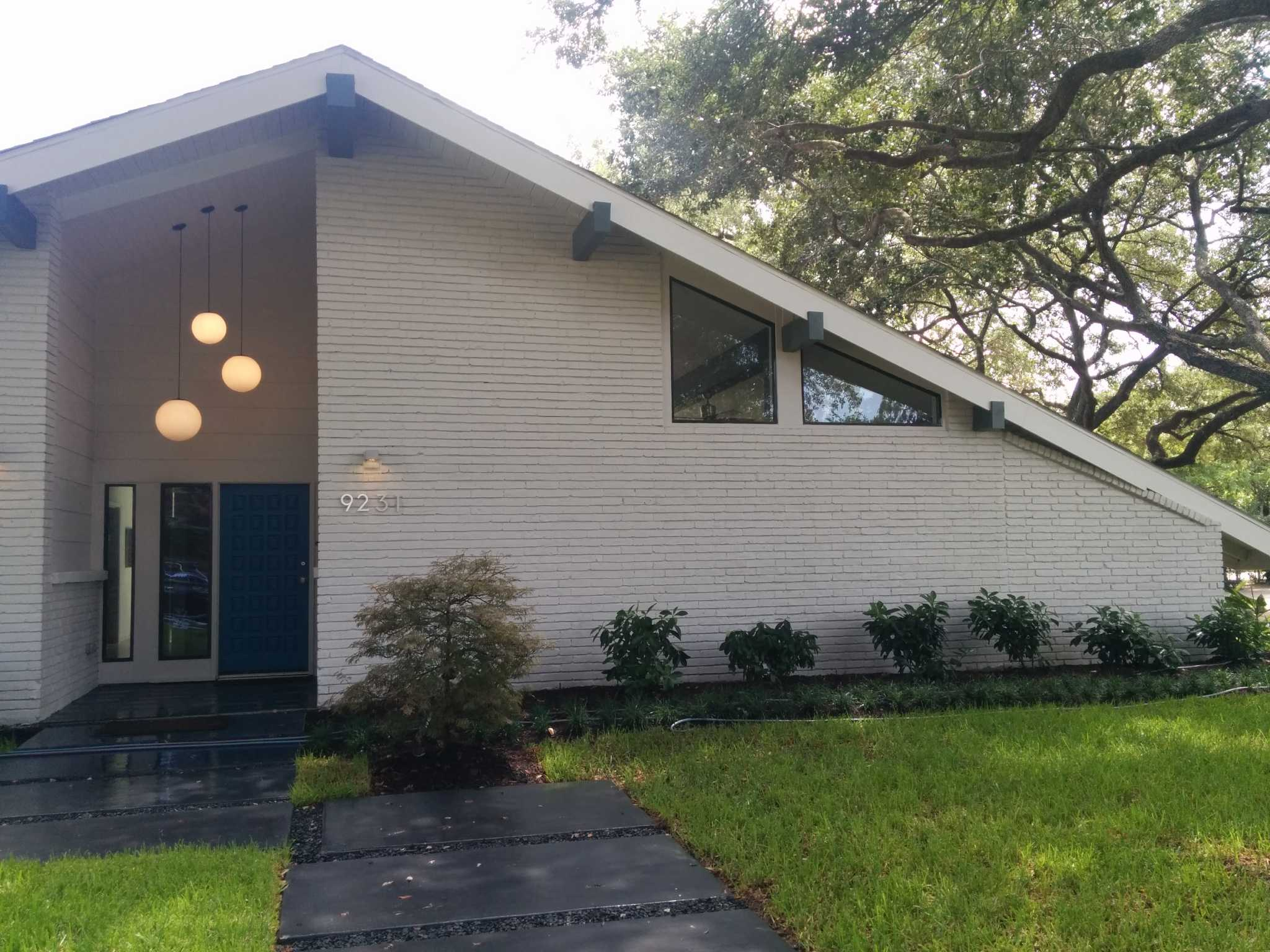 before and after: the revival of a midcentury home in houston