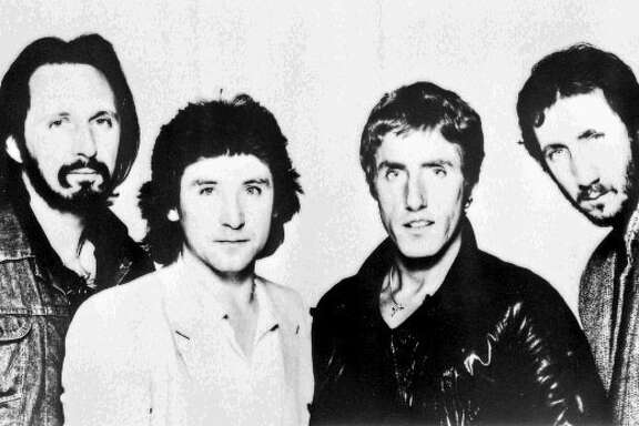 ** FILE ** In this file photo dated Dec. 4, 1979, of rock group The Who, from left: John Entwistle, Kenny Jones, Roger Daltrey and Pete Townshend.  Entwistle, 57, was found dead Thursday, June 27, 2002 in his Las Vegas hotel room, according to officials with MCA Records and the Clark County Coroner's Office.  (AP Photo/PA) **UNITED KINGDOM OUT NO SALES NO MAGAZINES**