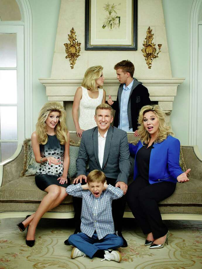 "Lindsie Chrisley Campbell, from left, Savannah Chrisley, Todd Chrisley, Grayson Chrisley, Chase Chrisley and Julie Chrisley star in ""Chrisley Knows Best."" Photo: USA Network, Still Photographer / 2014 USA Network Media, LLC"