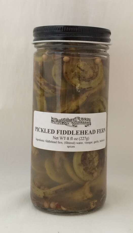Pickled fiddlehead ferns from Far West Fungi Photo: Sarah Fritsche / ONLINE_YES