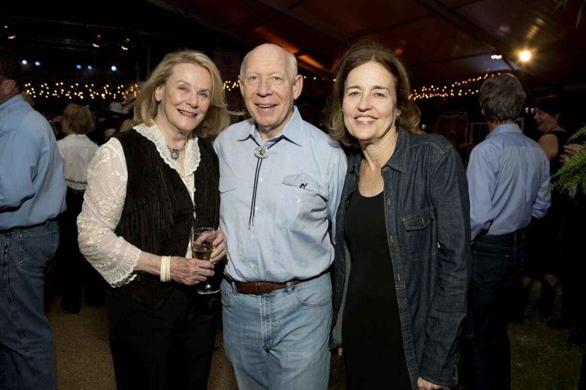 Anne Duncan with Bill and Andrea White