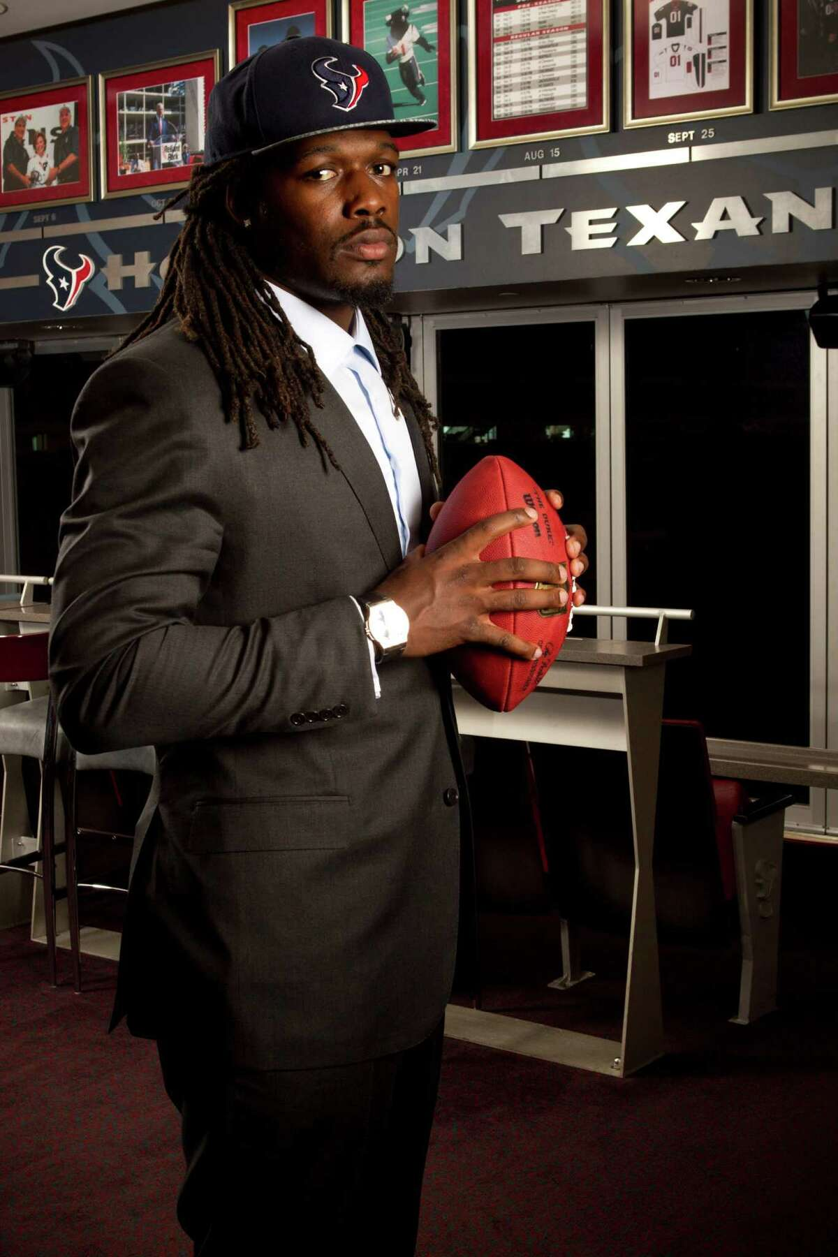 Jadeveon Clowney, Texans (2014-present) His name often is a catalyst for words - many of them unkind - from fans frustrated from his inability to stay healthy during his first two seasons after being drafted first overall.He'll need to have a big season in 2016 to get them off his case
