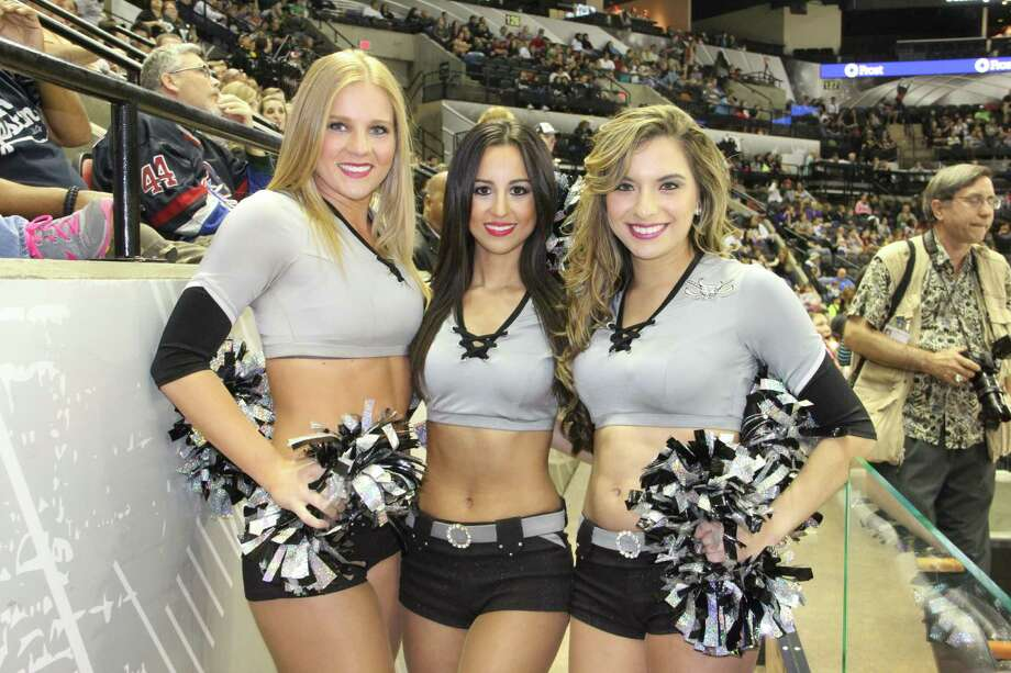 Rampage fans had a blast watching their team beat Iowa at the AT&T Center Friday night. Photo: By Jacob Beltran, For MySA.com