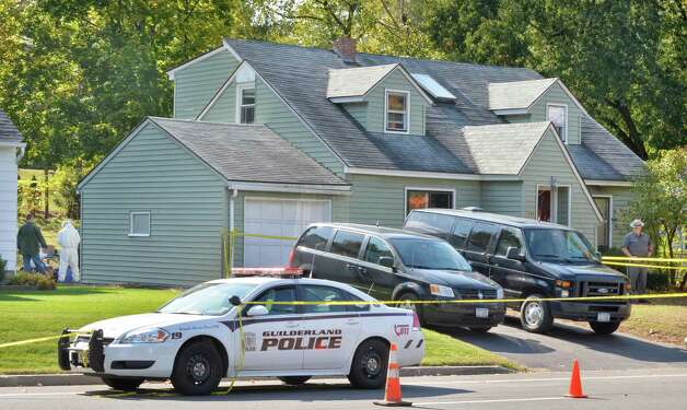 Investigations continue at 1846 Western Ave. Saturday Oct. 11, 2014, scene of a quadruple murder earlier this week in Guilderland, NY.  (John Carl D'Annibale / Times Union) Photo: John Carl D'Annibale / 10029010A