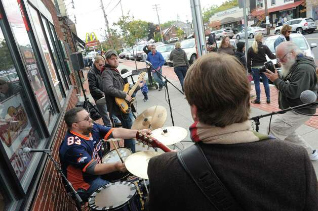 The band Gordon ST performs during the Upper Union Street 2014 Harvest Fest & Art Show on Saturday Oct. 11, 2014 in Schenectady, N.Y.  (Michael P. Farrell/Times Union) Photo: Michael P. Farrell / 10028945A