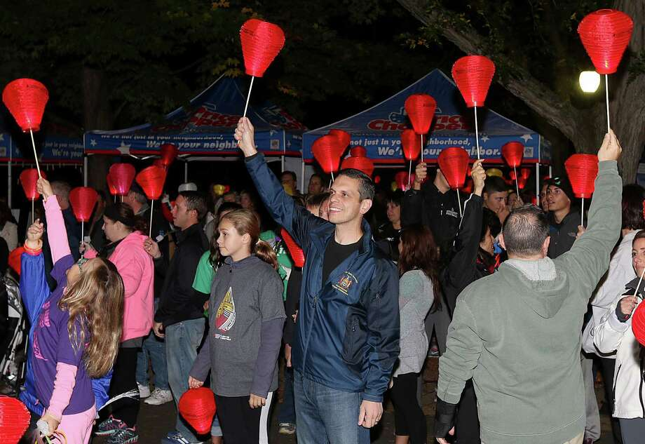 Were you Seen at the Light the Night Walk, a benefit for the Leukemia & Lymphoma Society Upstate New York/Vermont Chapter, held at the Siena College in Loudonville on Saturday, Oct. 11, 2014? Photo: (C) JOE PUTROCK 2014, Joe Putrock/Special To The Times Union