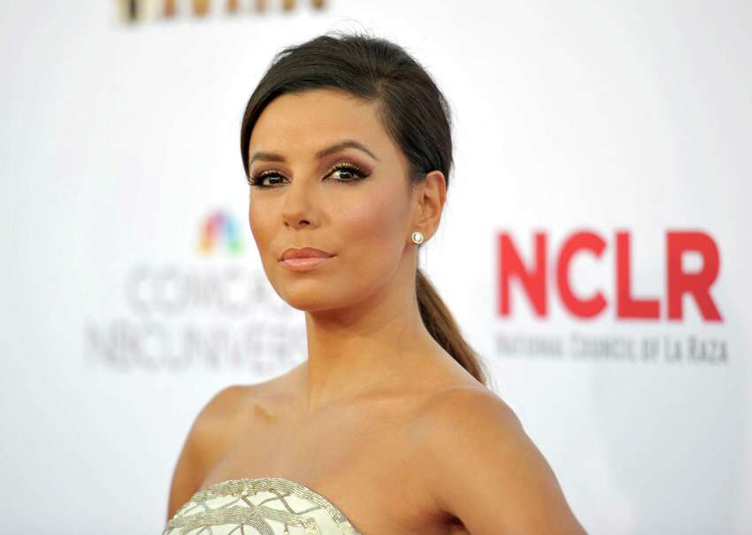 Actress Eva Longoria is hitting the campaign trail in San Antonio today in support of attorney Nicholas