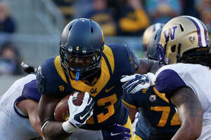 Cal running back Vic Enwere looks imposing in backup role - Photo