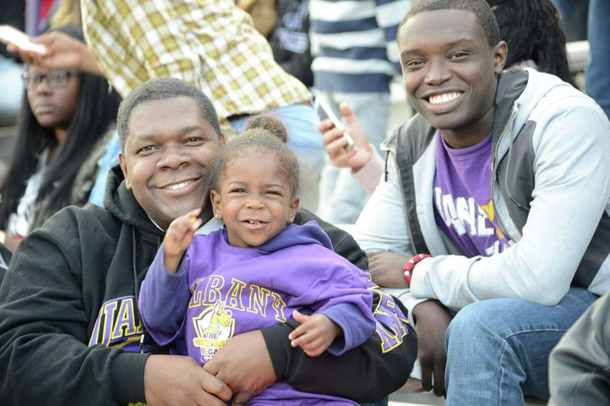 Were you Seen at the University at Albany homecoming game on Saturday, Oct. 11, 2014?