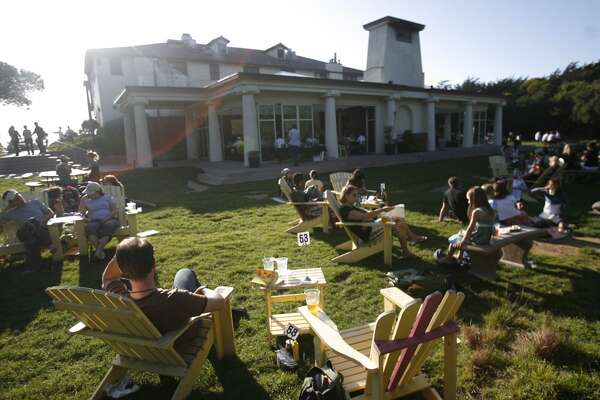 Park Chalet (1000 Great Hwy, S.F.): It's kid friendly, comfortable, and they have fun garden chairs.