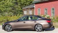 2014 Infiniti Q50 — a sports sedan that gets respect. - Photo